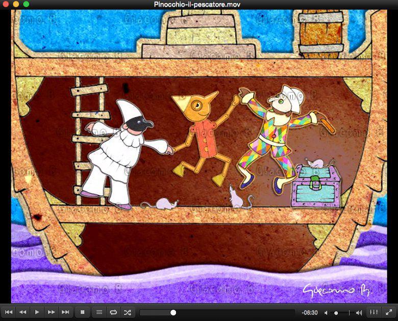 Pinocchio il Pescatore