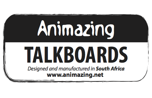 Animazing Talkboards Tag Logo