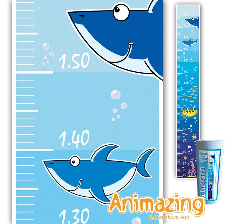 Animazing Growth Charts Sharks