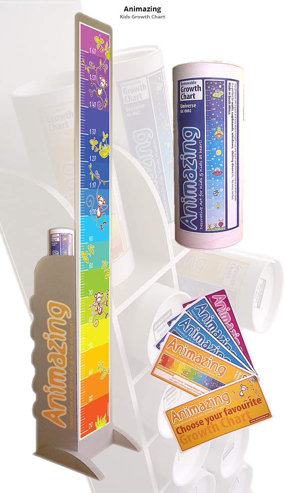 Growth Charts Packaging & Display Design